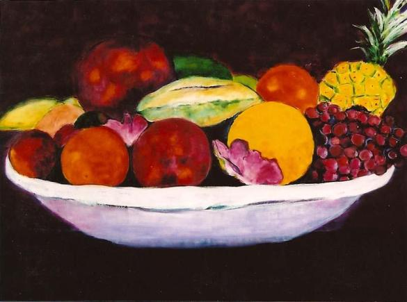 Tropical Fruits 30x40