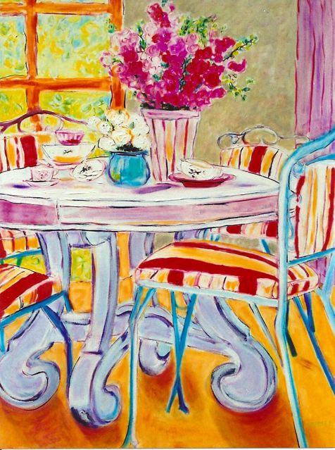 Turquoise Vase 30x40