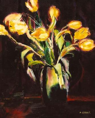 Yellow Tulips 16x20