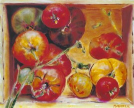 Box with Tomatoes 20x24