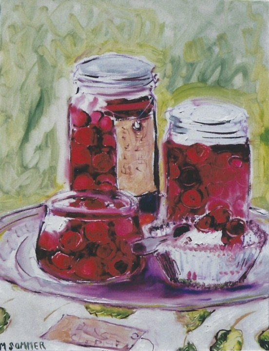 Cherry Preserves 18x20