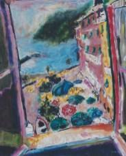 Cinque Terre, Italy 24x30 framed