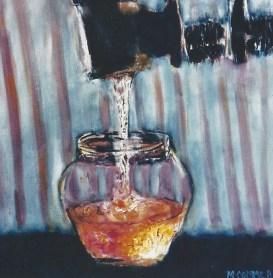 Pouring Honey 12x12