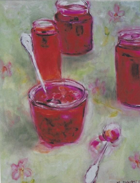 Raspberry Preserves 18x20