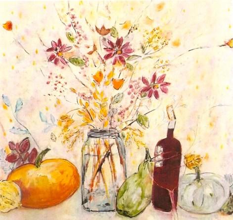 autumn still life with blue jar 2 1:2x2 1:2