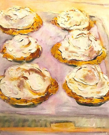 whipped tarts 16x20