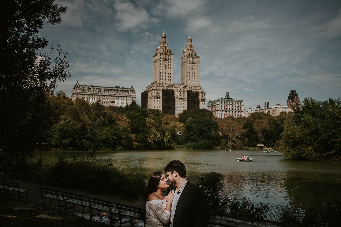 sesión per boda en new york fotografía