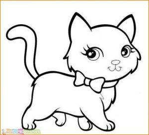 Download 65+  Gambar Kucing Lucu Mewarnai Paling Keren