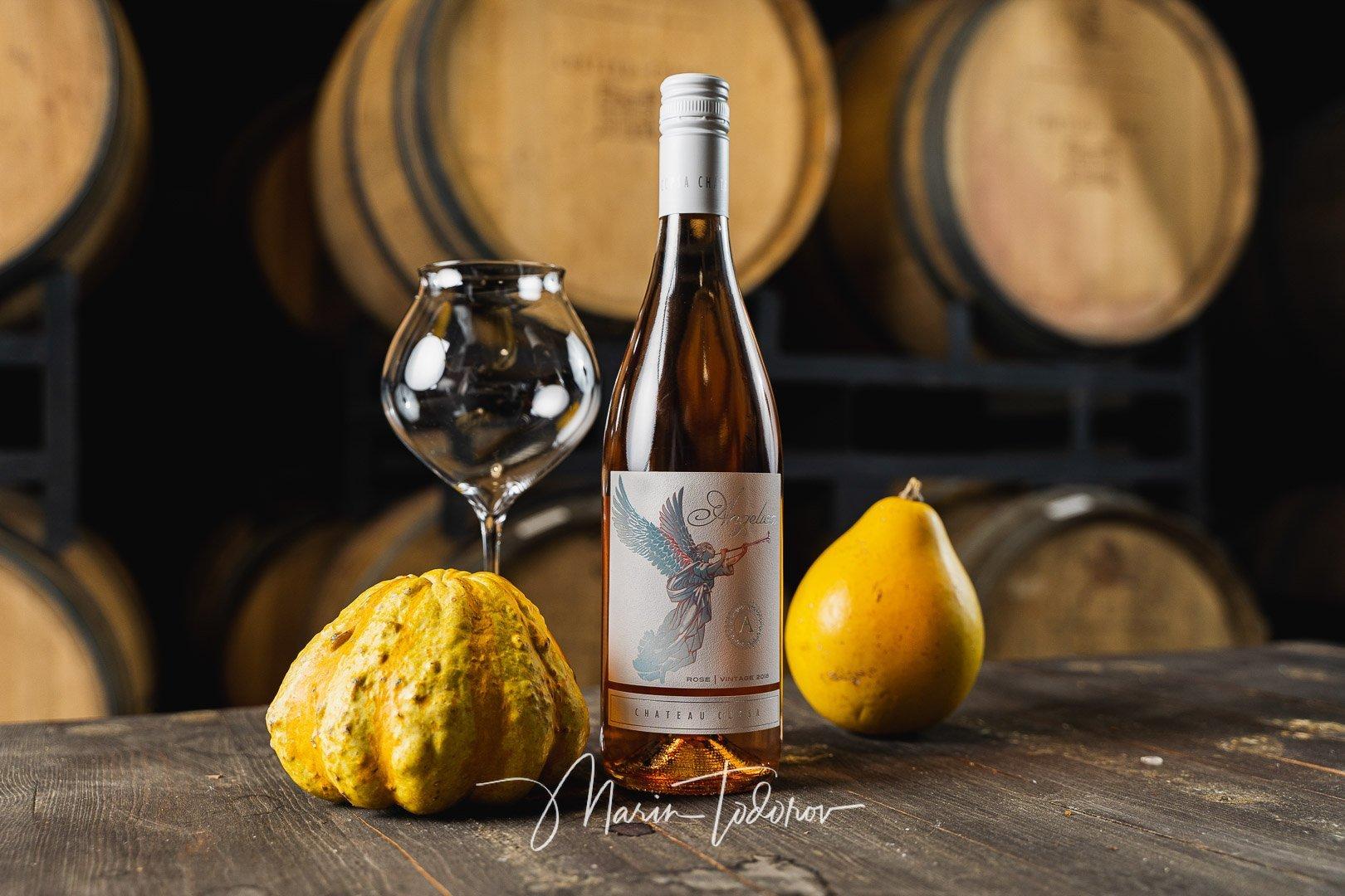 Angelica - бутилка вино Шато Копса
