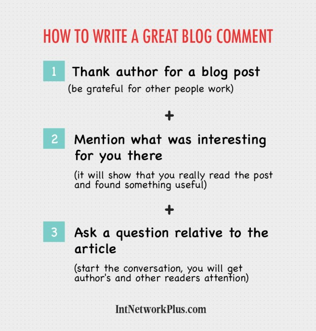 How to Write a Great Blog Comment