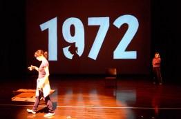 Tango music and dance show 1972