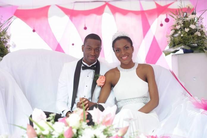 Helène Djouka, miss Côte d'Ivoire 2012 s'est mariée à Madak Doumbia en Janvier 2016