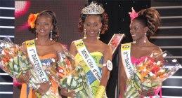 Inès Da Silva, Miss Côte d'Ivoire 2010 et ses dauphines