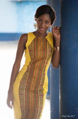 Kouyate Cindy, Première dauphine Sud-Comoé 2017 @Dja Marc
