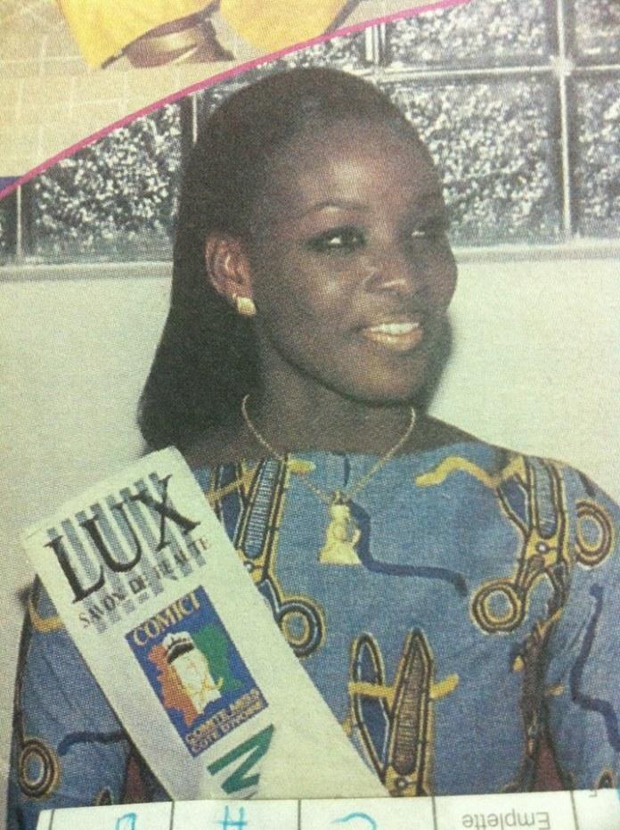 Sylviane Dodo , miss Côte d'Ivoire 1999 @DR