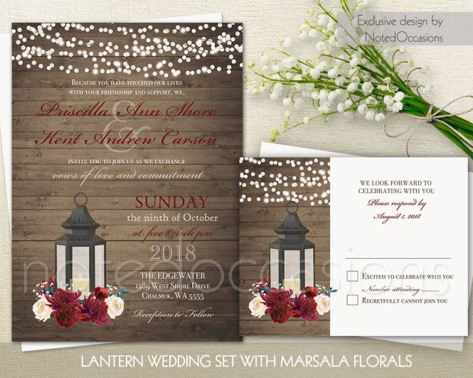 Rustic Country Wedding Invitations Marina Gallery Fine Art