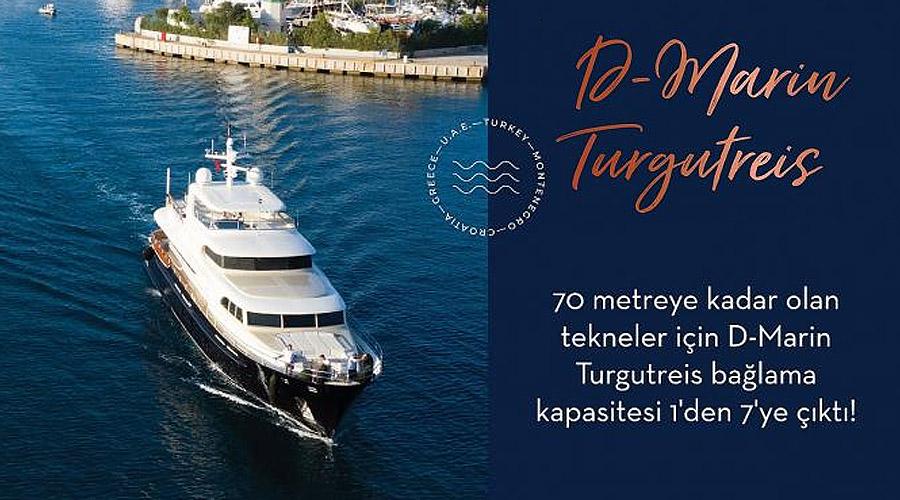 D-Marin Turgutreis Bağlama Kapasitesini Artırdı