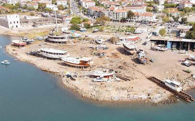 Ayvalık Belediyesi'nin Marina ve Çekek Yerine Bakanlık Onayı