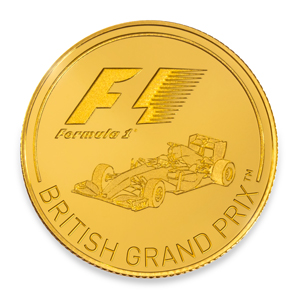 Front of British Grand Prix coin