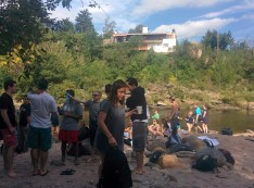 Remote Year riverside in Carlos Paz