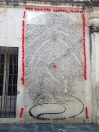Museum of Memory: names in fingerprints