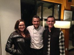 Me, Chef Luis and Ryan