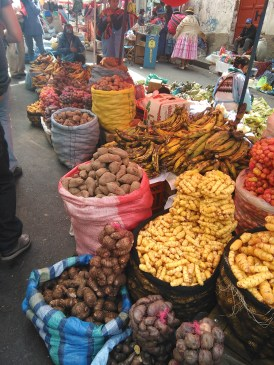 All the potatoes at Rodriguez Market