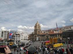 San Francisco church & square, La Paz