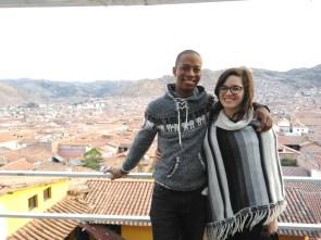 Overlooking Cusco