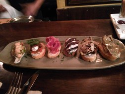 Delicious tapas at Cicciolina