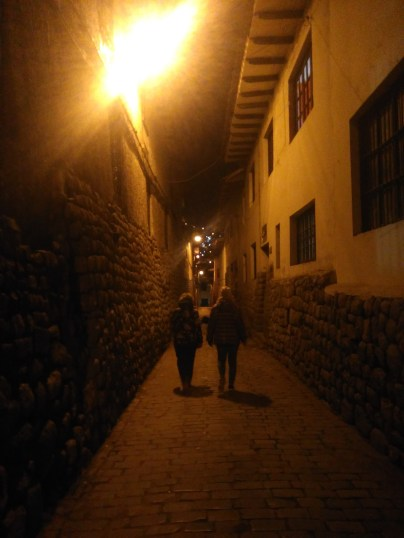 My aunt and cousin in Cusco