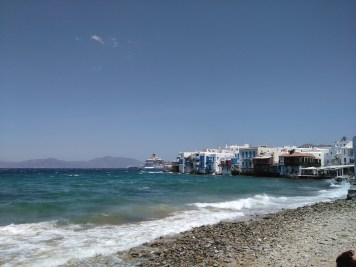 Beautiful Mykonos water