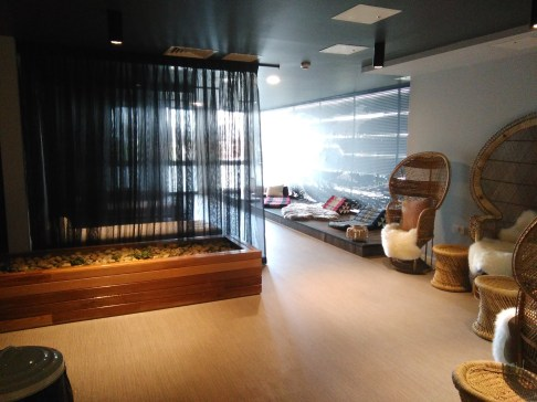 The spa room at The Collective