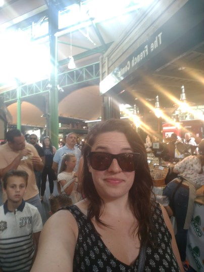 Borough Market, where all gourmet food comes to be consumed