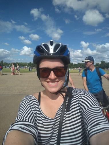 Bike tour through London