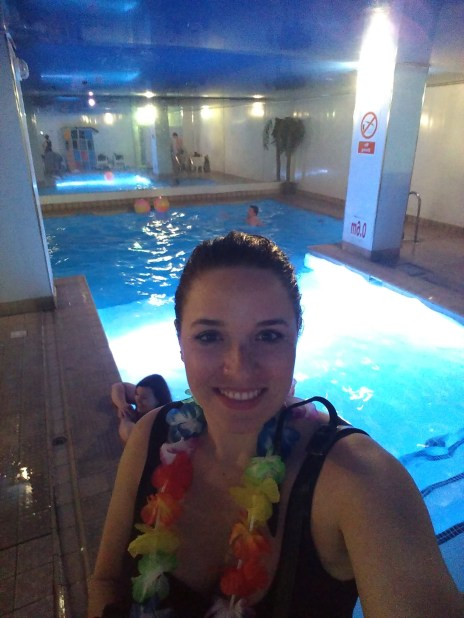 Pool at the club!