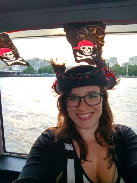 Pirate themed on the Thames
