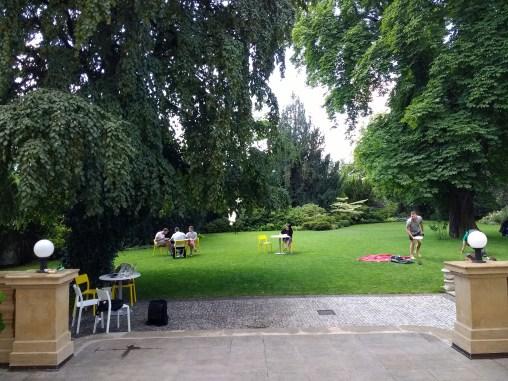 The patio/garden of K10 is my favorite