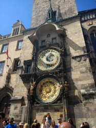 The famed Astronomical Clock