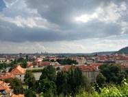 Gorgeous Prague views from Villa Richter vineyard