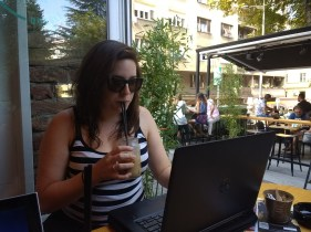 Working from 19 grams, home of one of the only iced coffees around