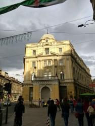 Main intersection of Sarajevo