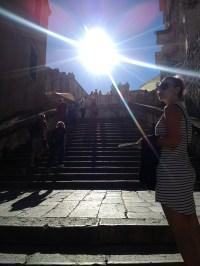 Melissa in Dubrovnik