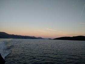Ferry ride to Hvar