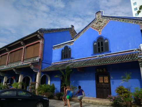 Our home in Penang (Blue Mansion)