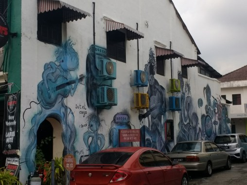 Awesome street art in Penang