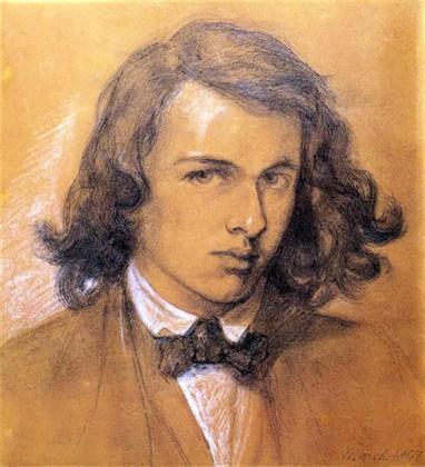 Self Portrait, Dante Gabriel Rossetti 1847.