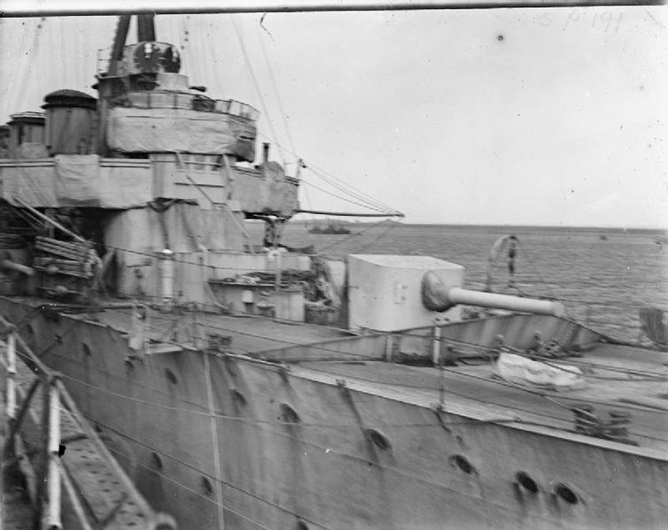 Jack Cornwell's gun, HMS Chester