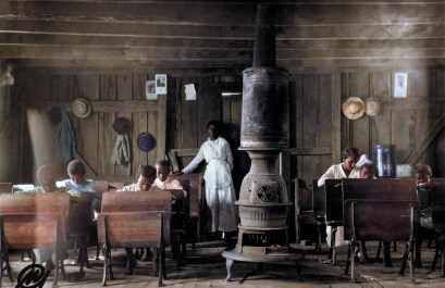School At Anthoston, Kentucky. By Lewis Hine, 1916.