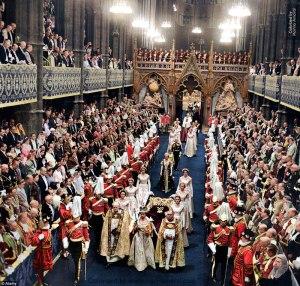 Coronation of Queen Elizabeth II. 2 June, 1953.